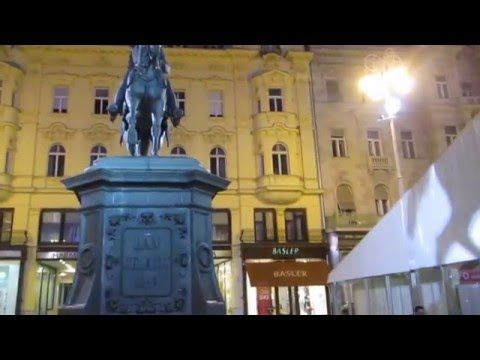 2 Croatia Travel, Zagreb Ban Jelacic Square 크로아티아 자그레브 반옐라치치광장