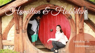 Hamilton Gardens | Hobbiton Movie Set | Day 8 | Sanshine in New Zealand