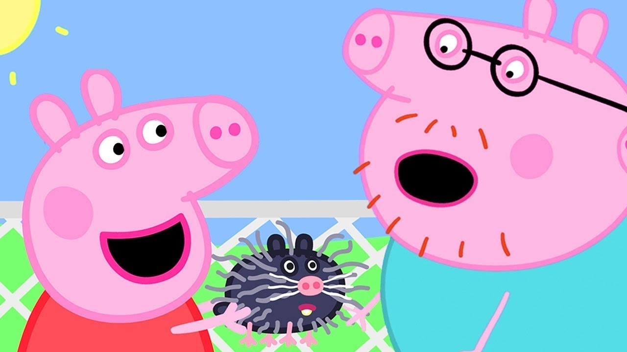 Peppa Pig Official Channel | What Animal is Peppa Pig Holding at the Petting Farm?