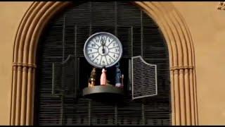 El rellotge del carilló del Mercat Central de Tarragona, en marxa