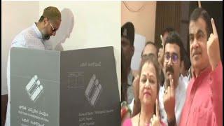 Lok Sabha Elections 2019: AIMIM Chief Asaduddin Owaisi casts vote