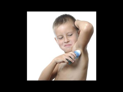 Deodorants for kids, what is the right age, are they safe, are they needed?