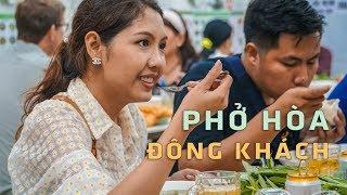 Phở Hòa sau 'khủng bố' tạt sơn, mắm tôm: Đông nghẹt khách đến ăn