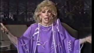 Joan Rivers 1982 monologue.  Hysterical!