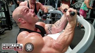 360 lb Morgan Aste Trains Back & Biceps at Gold's Gym Venice (Iron Diaries)