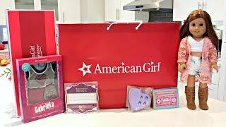opening american girl doll haul from agp seattle   gabriela goty 2017