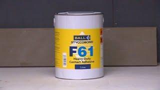 How to apply Styccobond F61 - Heavy Duty Contact Adhesive