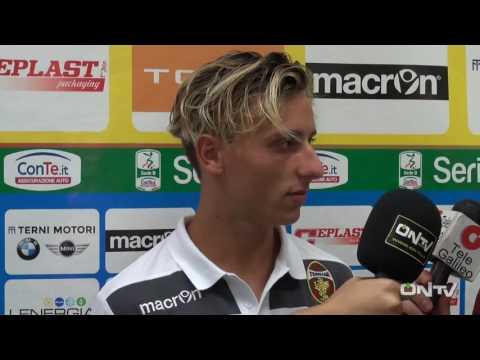 ONTV: Intervista a Jacopo Petriccione post Ternana-Pordenone (2-0)