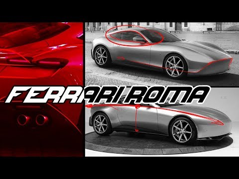 Ferrari Roma Design Review - It Comes Full Circle