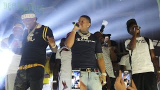 Yella Beezy performing That's On Me, Up One, I Wanna Know, and more in Dallas, TX