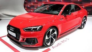 2018 Audi RS5 - 2017 New York Auto Show
