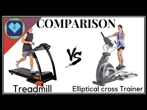 Treadmill vs Elliptical Cross Trainer | Want to Loose Weight? Which one is Better?