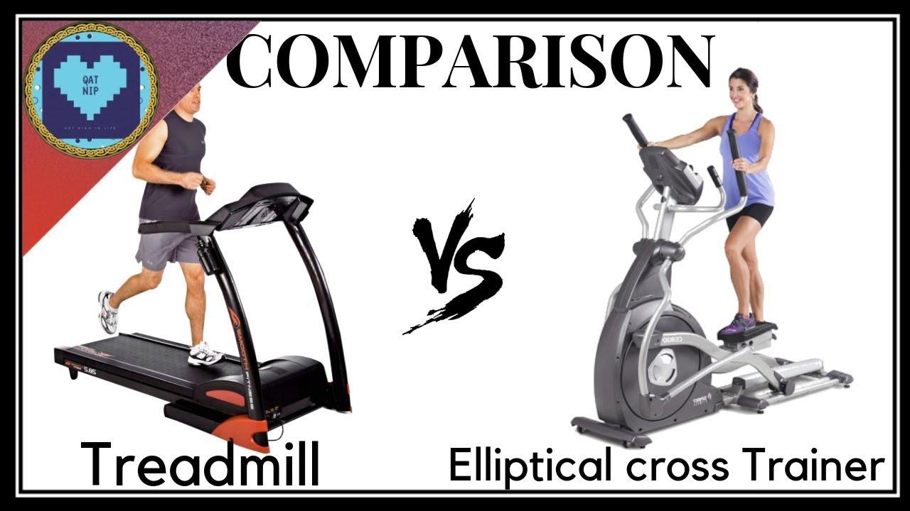 Treadmill vs Elliptical Cross Trainer