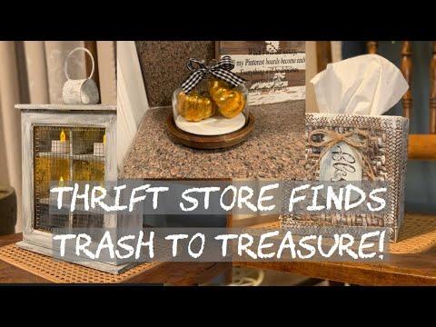 Thrift Store Haul/ Farmhouse Décor/ Trash To Treasure