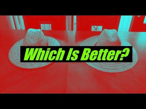 Wide Brim Hat Comparison