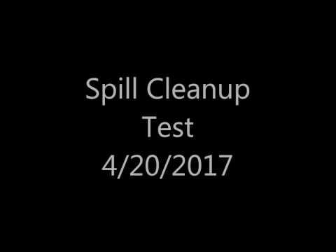 Vomit Clean-Up Demonstration