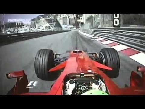 Formula 1 Onboard Felipe Massa Monaco Monte Carlo 2008
