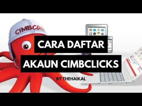 Cara Daftar CIMBClicks