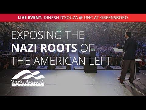 Dinesh D'Souza LIVE at University of North Carolina at Greensboro