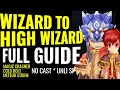 Wizard To High Wizard FULL GUIDE Lvl 60 99 Build MC FB HD To Meteor Storm Build mp3