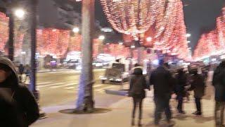 Żółte kamizelki Champs Elysees