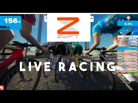 ZWIFT ROAD RACE (LIVE)