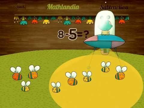 Mathlandia - iPad educational math game for babies/kids/toddlers