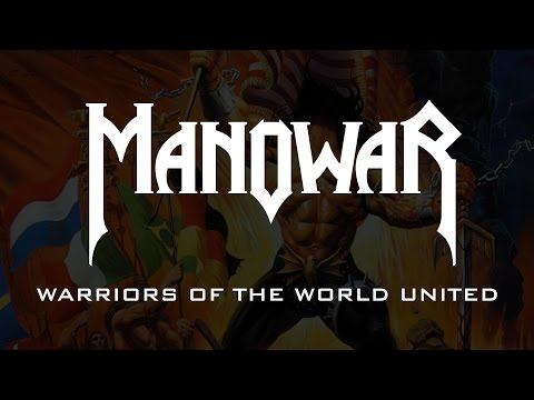 Manowar - Warriors Of The World United (Lyrics)