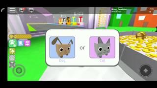 Симулятор животных Roblox онлайн игра для детей