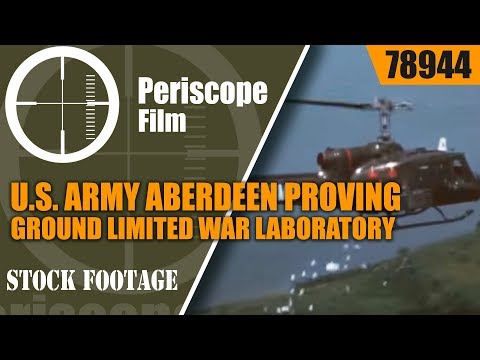 U.S. ARMY ABERDEEN PROVING GROUND LIMITED WAR LABORATORY 78944