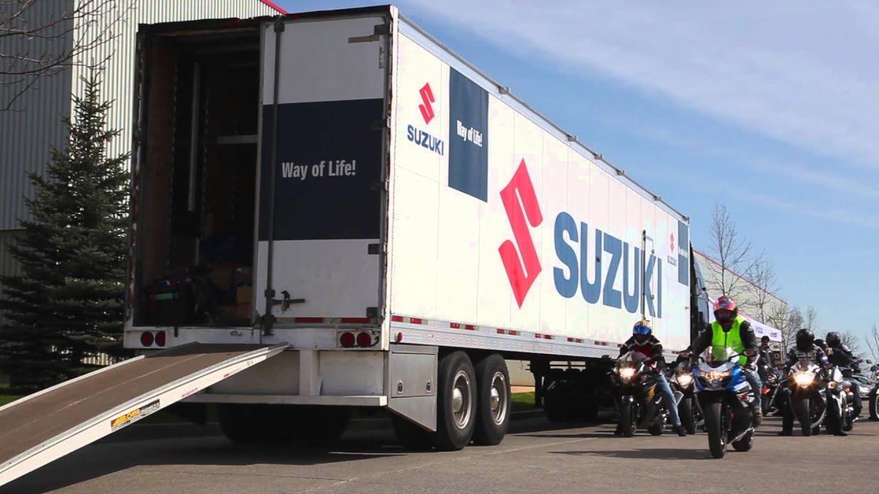 new 2014 suzuki motorcycles test ride demo ride day at brampton