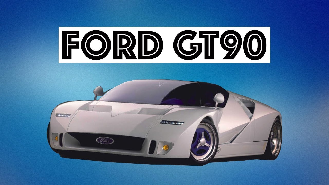 ford gt90 concept hypercar youtube. Black Bedroom Furniture Sets. Home Design Ideas