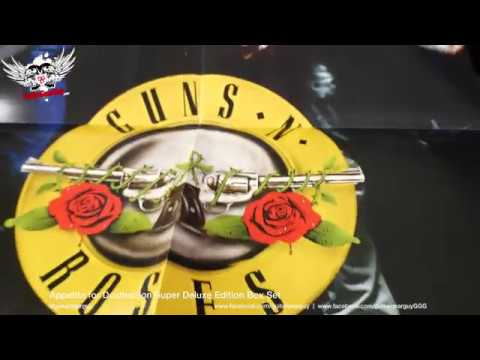 Gn'R Appetite for Destruction Super Deluxe Box Set unboxing