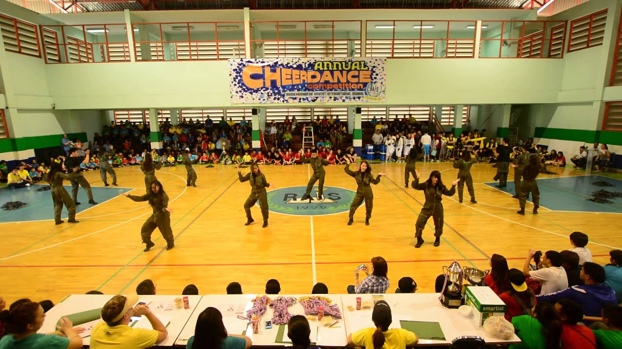 Sports Day & Cheer Dance competition - 1st place Green ...