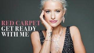 GRWM Red Carpet Glam + Designer Dresses for Cannes Film Festival thumbnail