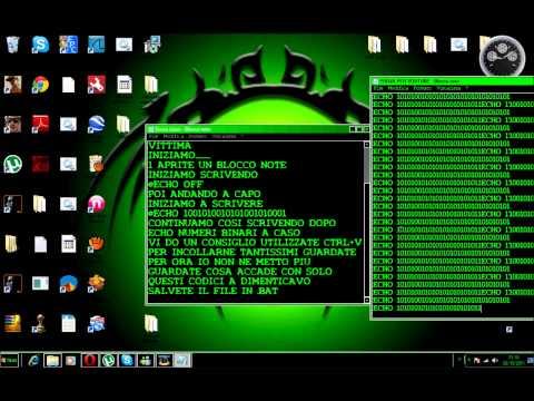 Come creare un virus per windows
