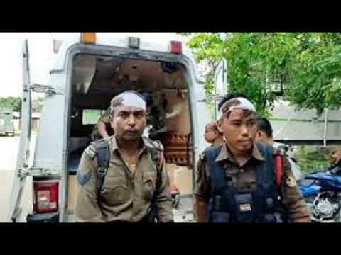 मिजोरम असम सीमा पर कुछ ऐसी ही भड़की हिंसा