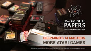 DeepMind's AI Masters Even More Atari Games | Two Minute Papers #238
