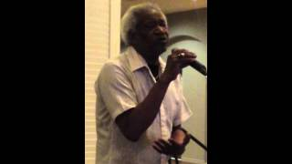 """Fred Oliver singing """"What will my Mary say"""""""