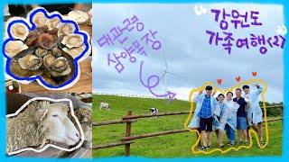 [Vlog] 강원도 2박 3일 여름 가족 여행 브이로그…