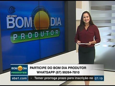 Bom Dia Produtor | 02/01/2018