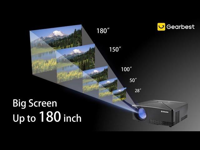 Projecteur Android A80 2800 Lumens 0 6 Alfawise Bd1280 Eu Prise Intelligent b6yf7gY