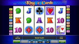 King of Cards Slots by Novomatic | Neonslots.com