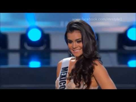 Cynthia Duque Miss Mexico in the Miss Universe Preliminary Competition 2013.