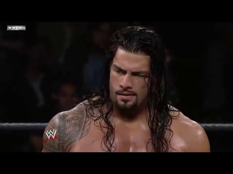 Roman Reigns first match in NXT