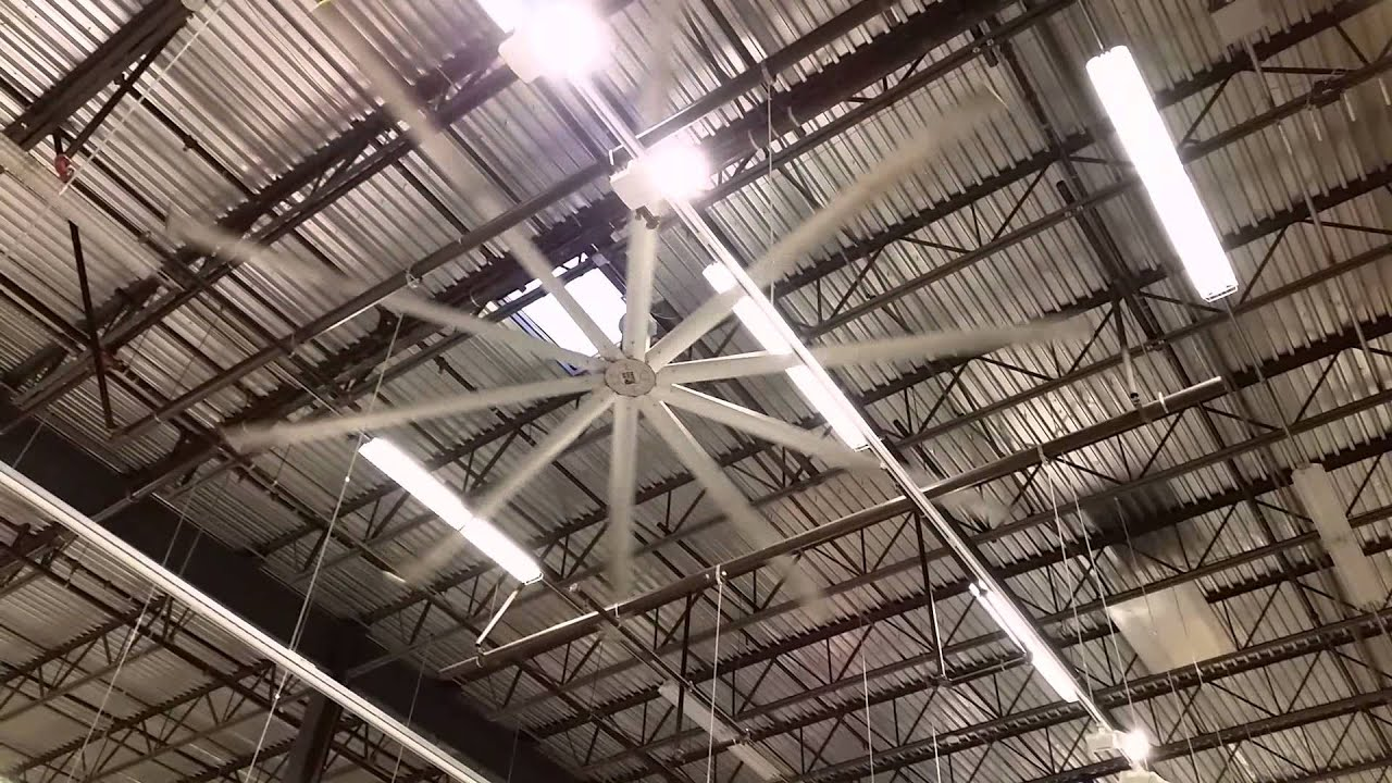 Giant ceiling fan in Ikea