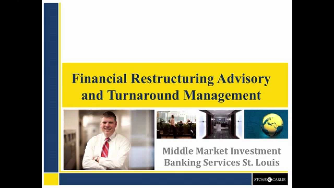 restructuring investment banking