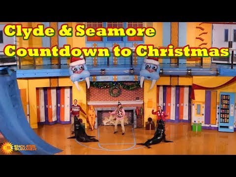 Clyde and Seamore's Countdown to Christmas Show at SeaWorld Orlando (2017)