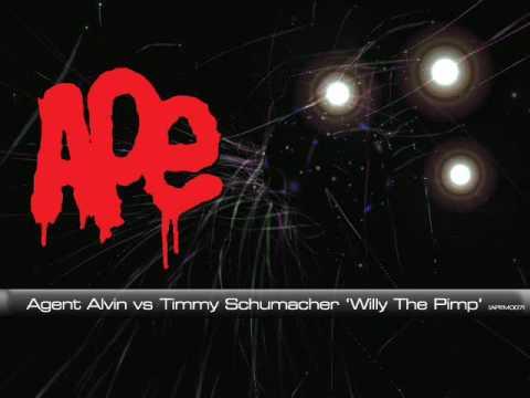 Agent Alvin vs Timmy Schumacher Willy The Pimp [APEM007]
