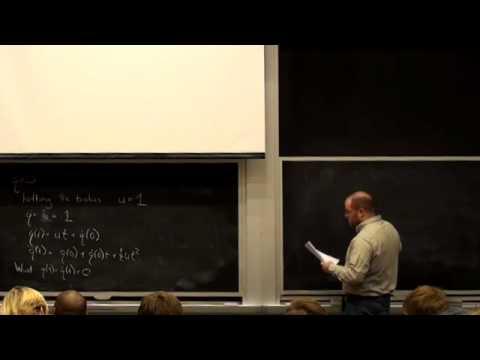 Lecture 3 | MIT 6.832 Underactuated Robotics, Spring 2009